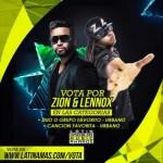 Vota por Zion y Lennox en los Latin American Music Awards