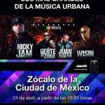 el Zócalo (CDMX) te espera al ritmo de reggaetón
