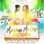 Dj Blass y Dj Joe Presentan: Making Money Riddim (Cover y Tracklist)