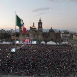 Nicky Jam, Wisin, Gente de Zona reúnen a más de 40 mil personas en el Zócalo