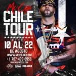Mc Ceja – Chile Tour (Desde El 10 Al 22 De Agosto)