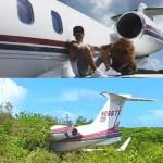 J Balvin sufre aparatoso accidente de avión.