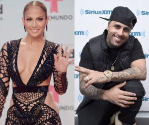 Jennifer López comparte un adelanto de su tema con Nicky Jam 1024x863 300x253 - Nicky Jam luce en las redes sociales los cuadros artísticos de sus ídolos