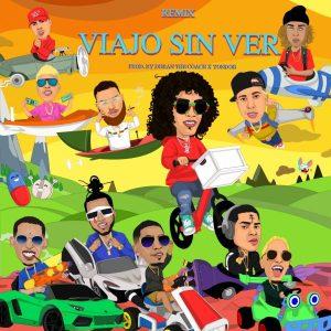 EbfVqU2T 300x300 - Jon Z Ft. De La Ghetto, Almighty, Miky Woodz, Y Mas - Viajo Sin Ver Remix (Official Video)