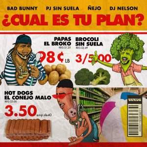 plan 300x300 - Bad Bunny Ft. Ñejo y PJ Sin Suela – Cual es tu plan? (Video Preview)