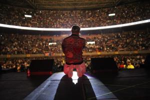 """Magnate regresó a La Macarena en la Gira """"Como Antes"""" de Wisin y Yandel - Wisin y Yandel vs Zion y Lennox - En Tensión, Pam Pam, El Teléfono (Como Antes Tour Concierto) Live"""