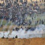 Miles de palestinos intentan invadir a Israel; 7 muertos y centenas de heridos