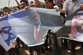 Palestinos de Gaza hacen nuevas protestas y la prensa distorsiona los hechos