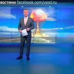 """TV rusa pide a  televidentes que compren alimentos, previendo """"guerra nuclear"""""""