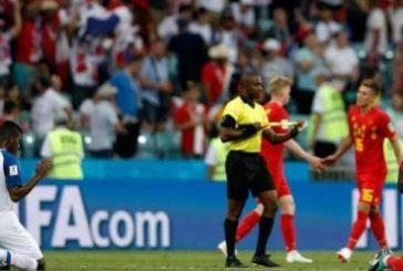 Romelu Lukaku y Fidel Escobar jugadores rivales oran tras jugar Copa Rusia 2018