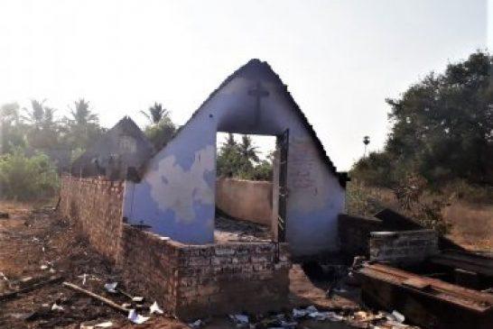 Iglesias son quemadas en una nueva ola de intolerancia contra cristianos