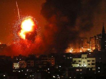 Más de 200 cohetes lanzados contra Israel desde Gaza