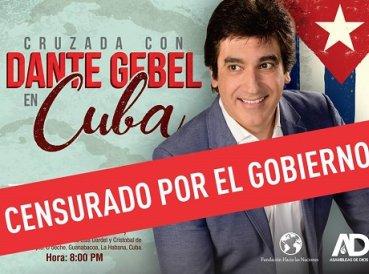 Cuba prohíbe a Dante Gebel realizar cruzada evangelística