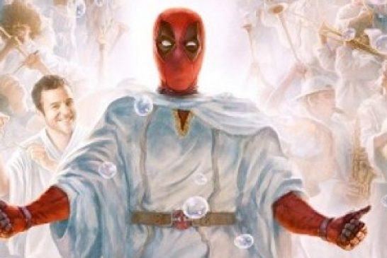 Poster de Deadpool en lugar de Jesús irrita a religiosos