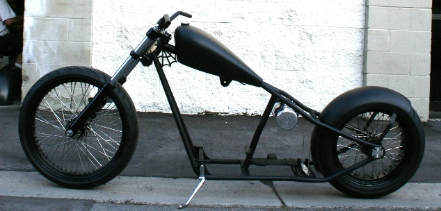 N73 :WEST COAST CHOPPERS CFL 2 UP FRAME WITH 23 FRONT - Malibu ...