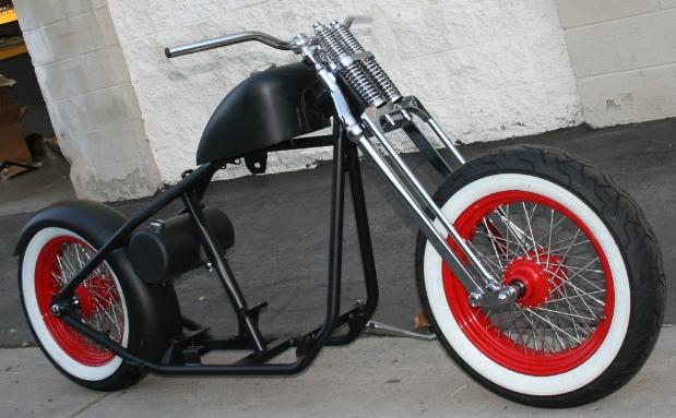 N92 Og Fat Tire Old School Bobber With Whitewalls Malibu