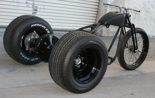 How to build a trike rear end