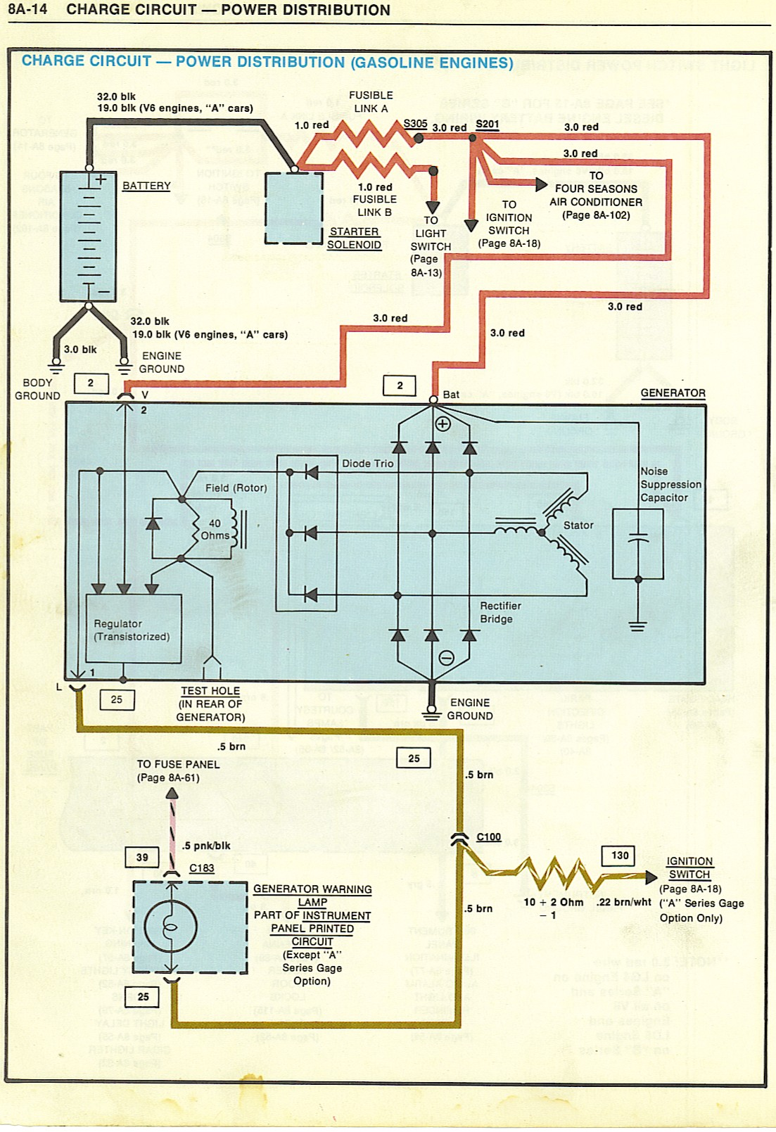 Amp Gauge Wiring Diagram 1968 Chevy 1979 Elce Engine Bay Wiring Problems El Camino Central