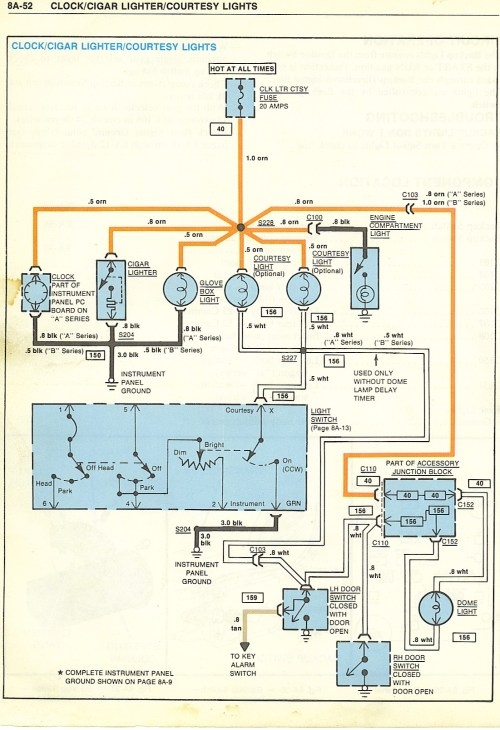 small resolution of wiring diagrams 1954 corvette wiring diagram 1977 corvette dome light wiring diagram