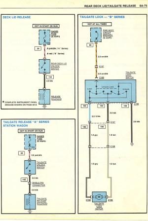 HELP Power Release Trunk Wiring  GBodyForum  '78