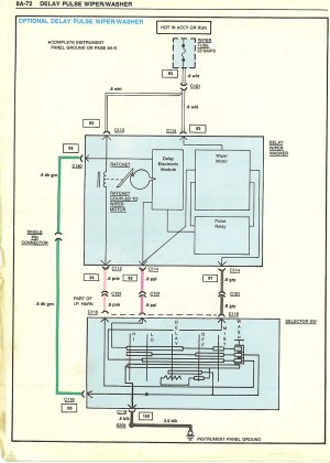 El Camino Wiring Diagram