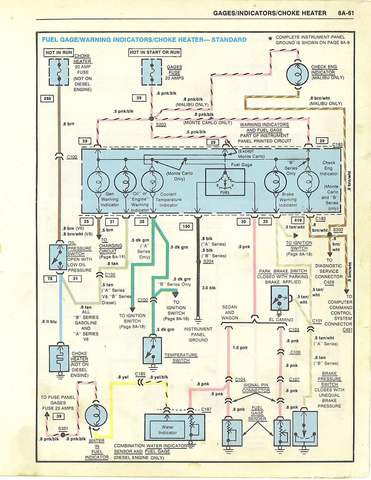 1969 malibu wiring diagrams