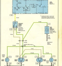 1975 chevy headlight switch wiring diagram [ 1157 x 1641 Pixel ]