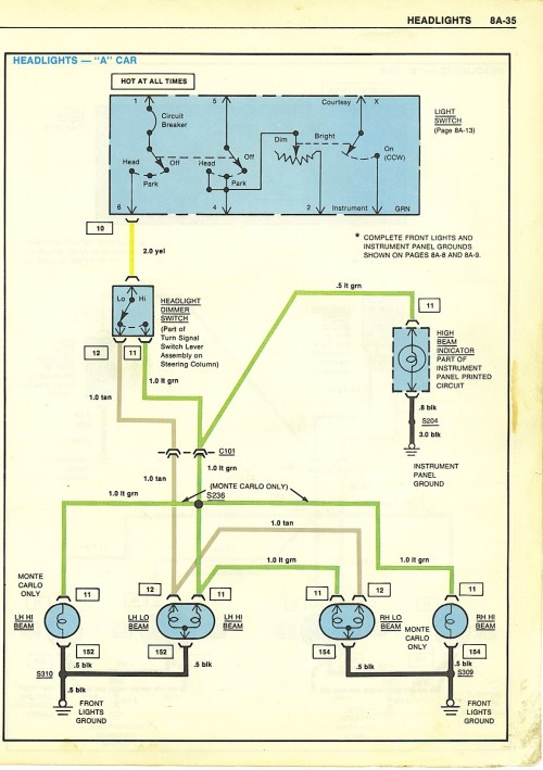 small resolution of wiring diagrams1979 el camino alternator wiring diagram 21