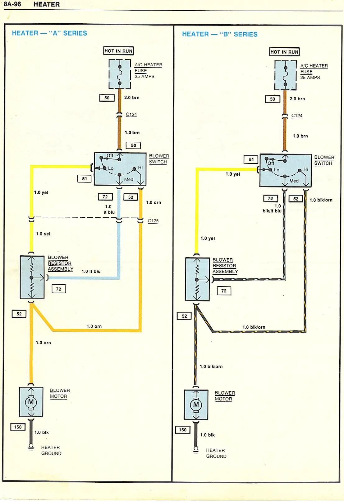 1987 Wiring Diagram Chevy G Body