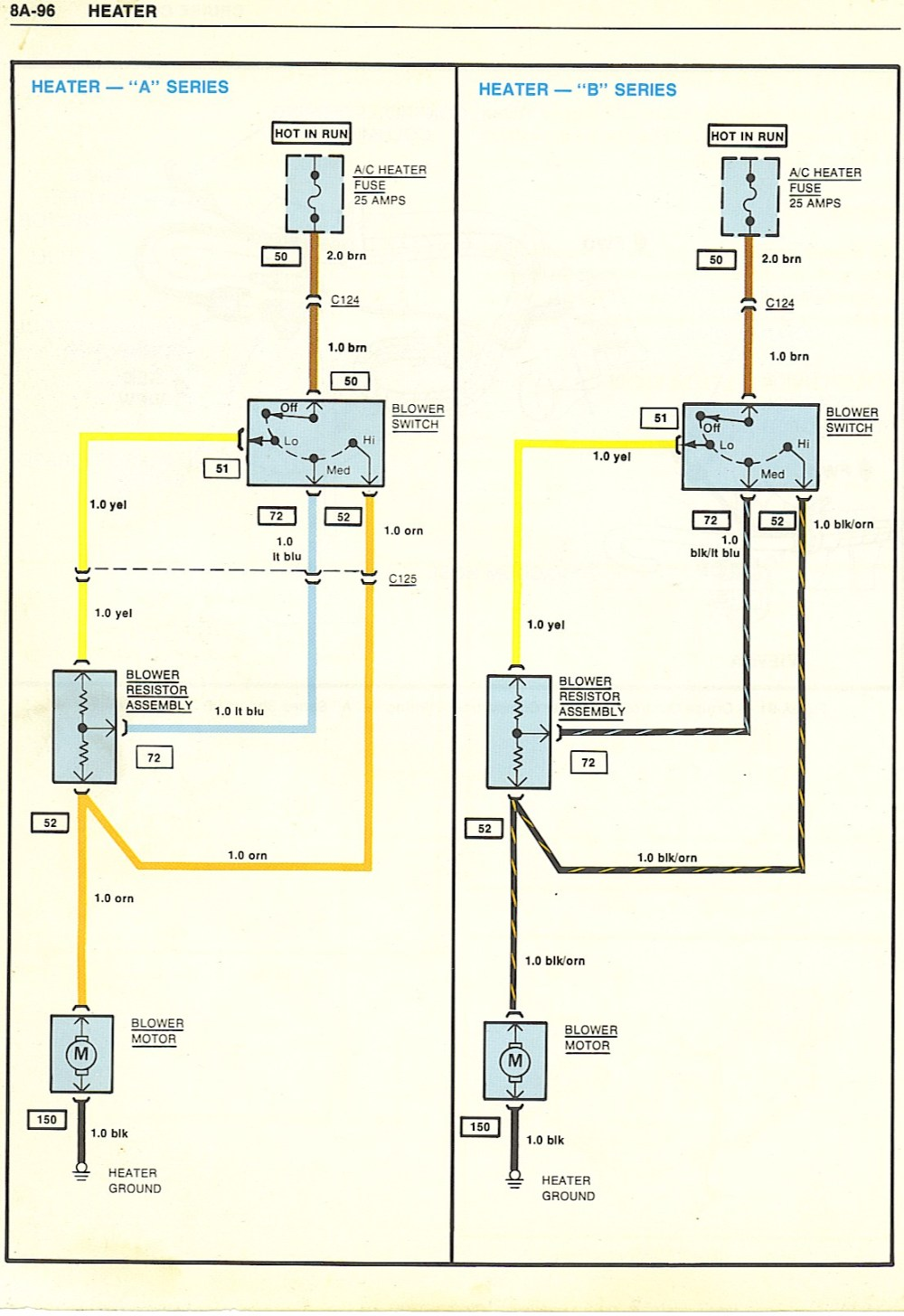 medium resolution of gm heater wiring wiring diagram repair guides gm heater wiring harness diagram