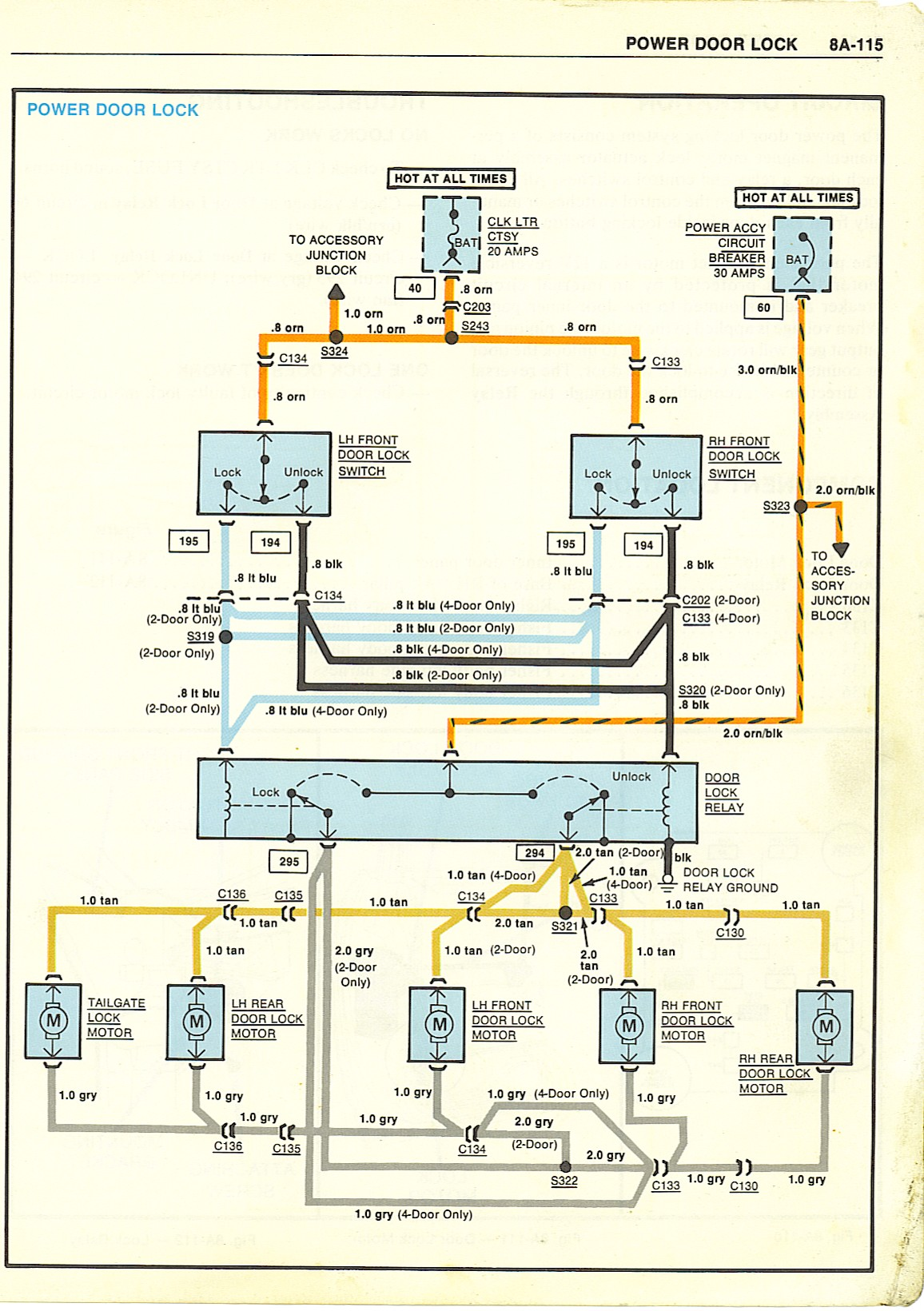 Peterbilt Power Window Wiring Diagram