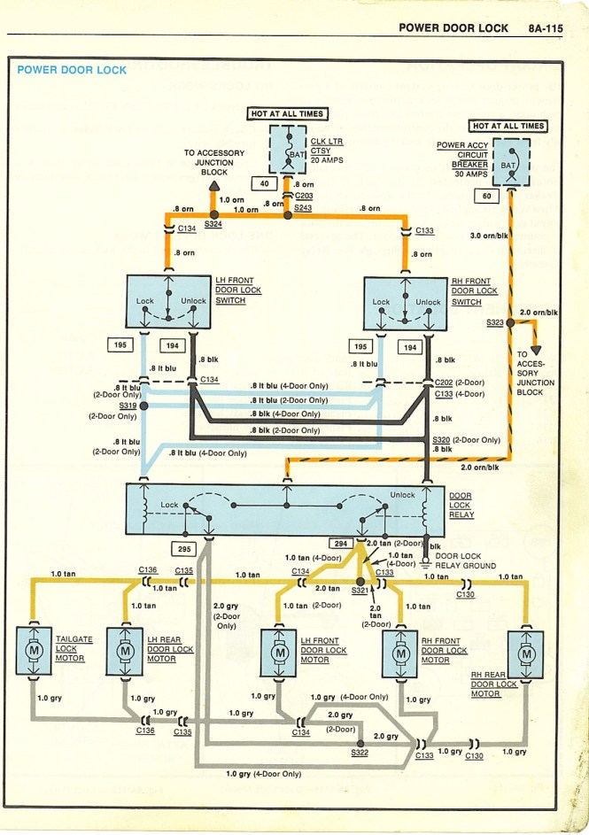 1979 corvette fuse box diagram 1979 image wiring 1979 corvette power door lock wiring diagram wiring diagram on 1979 corvette fuse box diagram