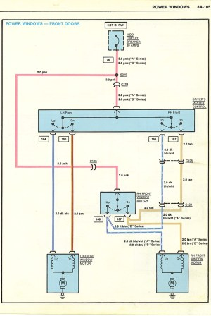 Power window wiring | GBodyForum  '78'88 General Motors