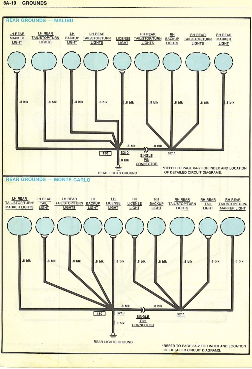 medium resolution of 1980 camaro headlight wiring diagram