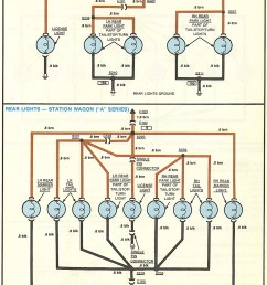 1957 chevy tail lights wiring harness diagram [ 1102 x 1610 Pixel ]