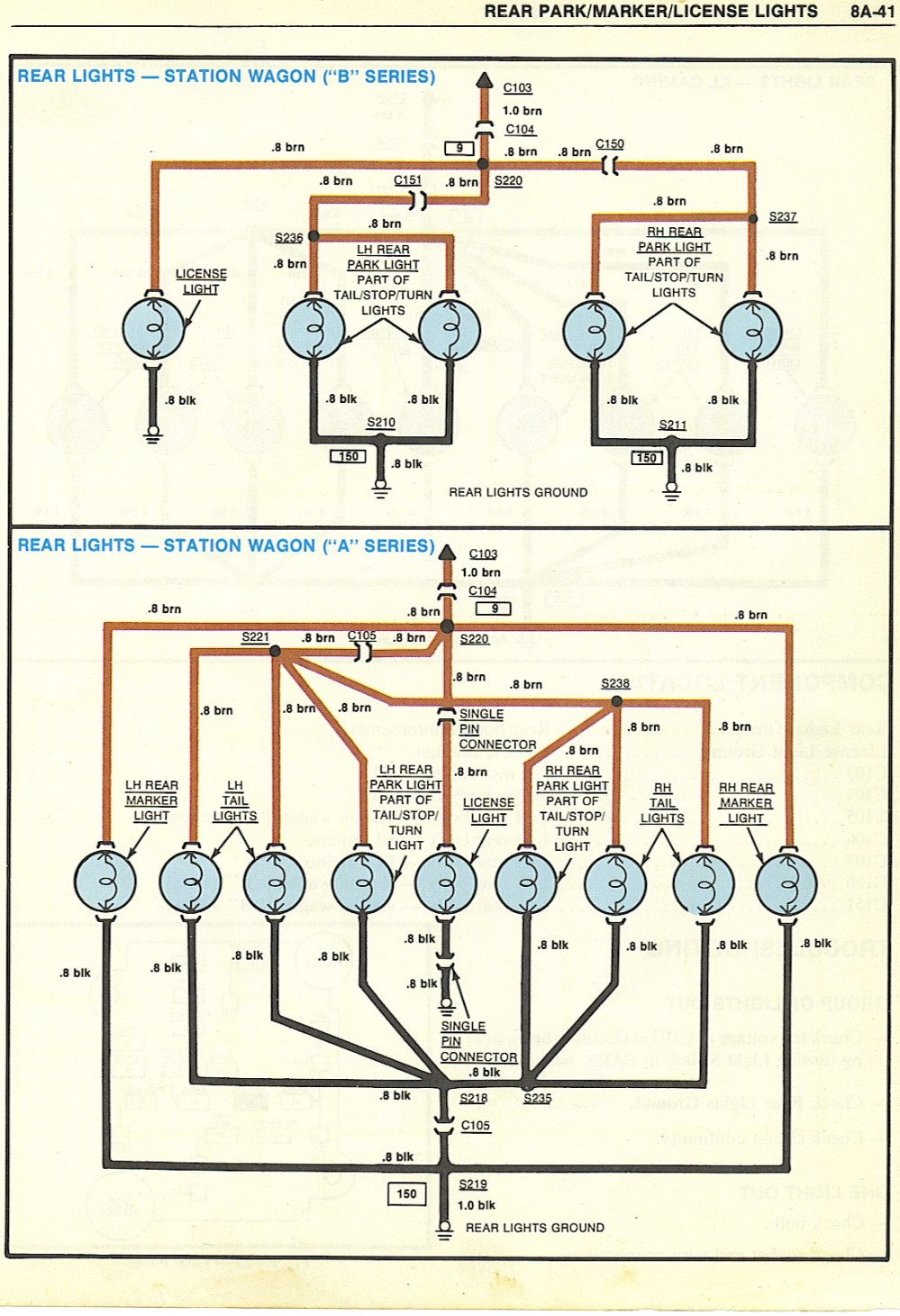 medium resolution of dodge tail light wiring diagram for 1984 images gallery