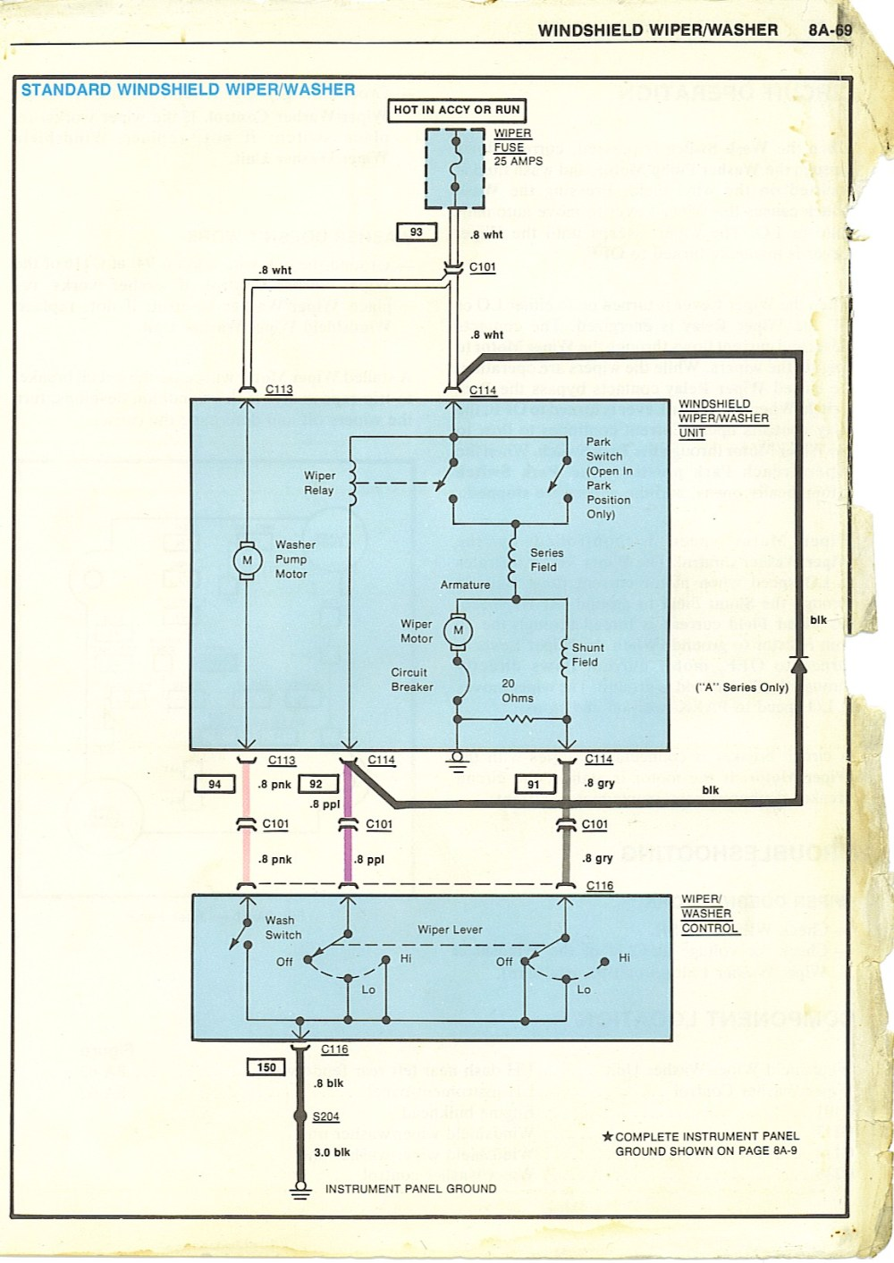 medium resolution of wiring diagrams corvette wiper motor wiring diagram 1966 chevelle horn relay wiring