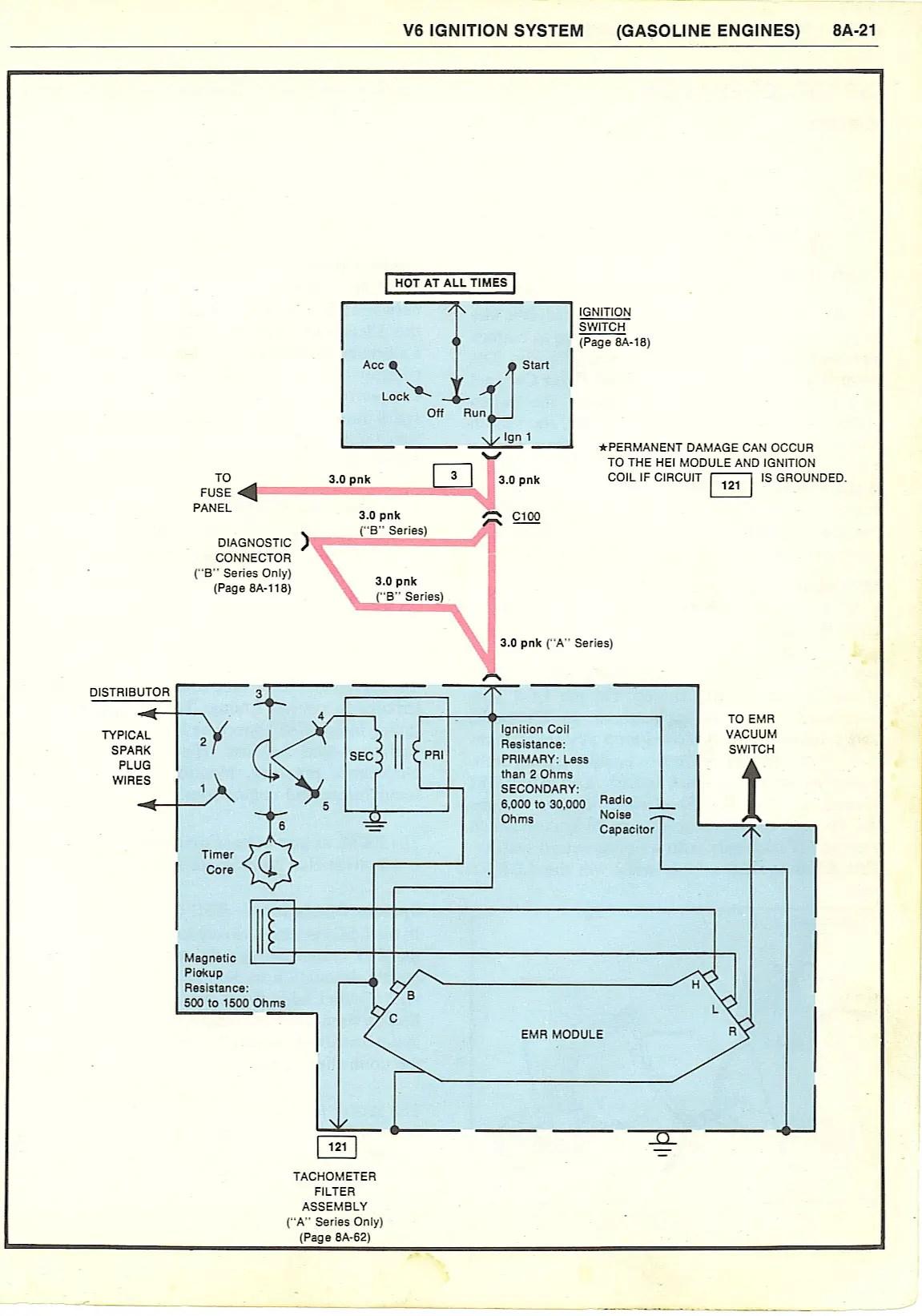 68 Buick Wiring Diagram Schematic 1980 Monte Carlo No Spark Condition Gbodyforum 78 88