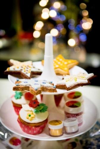 atelier sablé et Pop cake de Noël