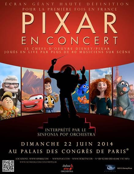 Pixar en concert
