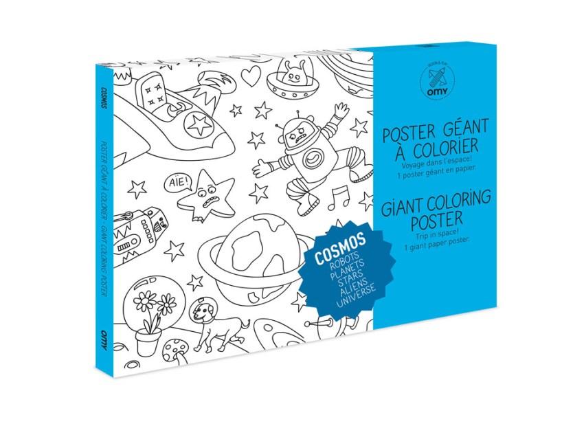 Coloriage Géant Cosmos Cadeau Enfant Anniversaire Love Kids