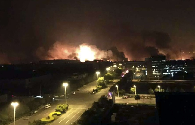 Actualités du Mali - Chine: 50 morts et plus de 700 blessés dans des explosions