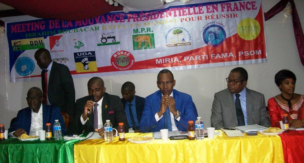 Actualités du Mali - La Mouvance Présidentielle du Mali en France informe la diaspora