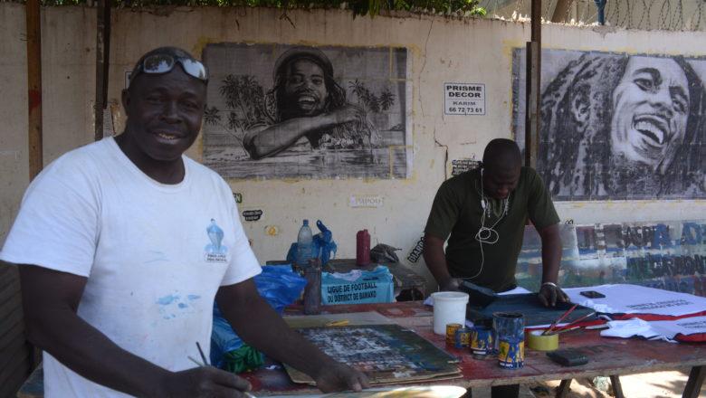 Karim Keïta : La peinture, un don du Ciel