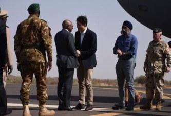 Mali : Justin Trudeau rend visite à la force aérienne canadienne déployée dans le cadre de la MINUSMA