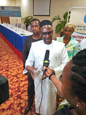 Direction nationale des routes: Mamadou Naman Keita, un directeur hors pair