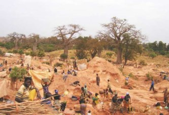 Kolondiéba : L'effondrement d'un site d'orpaillage fait 17 morts