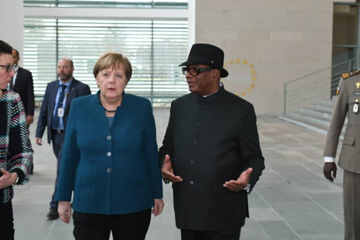 «…l'Allemagne est vraiment l'ami du Mali », dixit IBK lors de sa visite de travail en Allemagne
