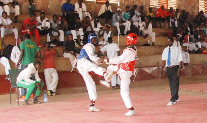 Taekwondo : LES ATHL!TES DE L'ÉQUIPE NATIONALE AFFÛTENT LEURS ARMES