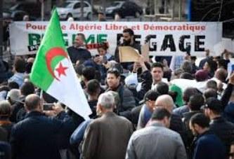 Election présidentielle en Algérie : des centaines d'Algériens dans la rue pour protester